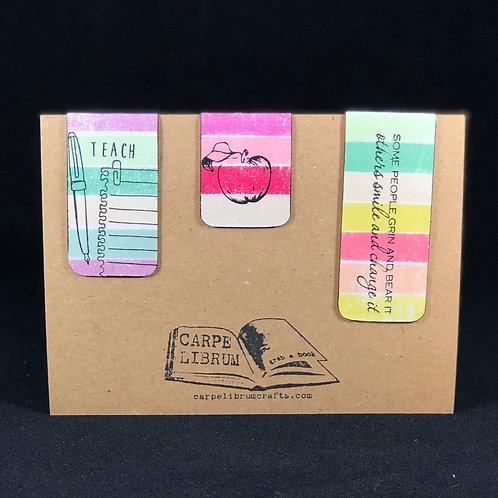 Teacher Inspiration Magnetic Bookmark Gift Set