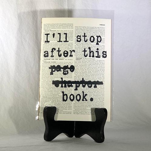 I'll Stop Encyclopedia Page Print