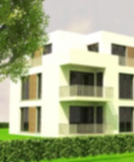 Neubau MFH Kirchlengern, Archtektur