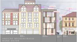 Ansicht Bäckerstraße