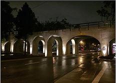 Pacific Electric Railroad Bridge at nigh