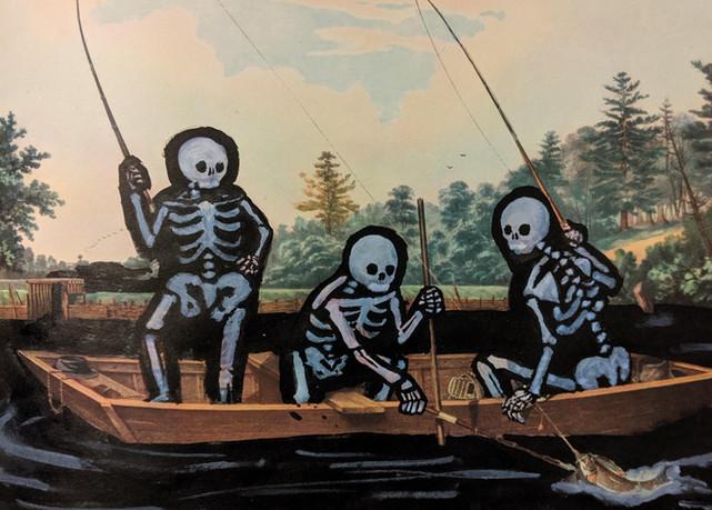 Skullies Go Fishing