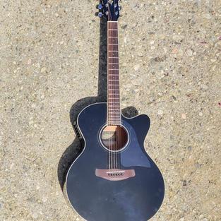 The guitar, pre transformation