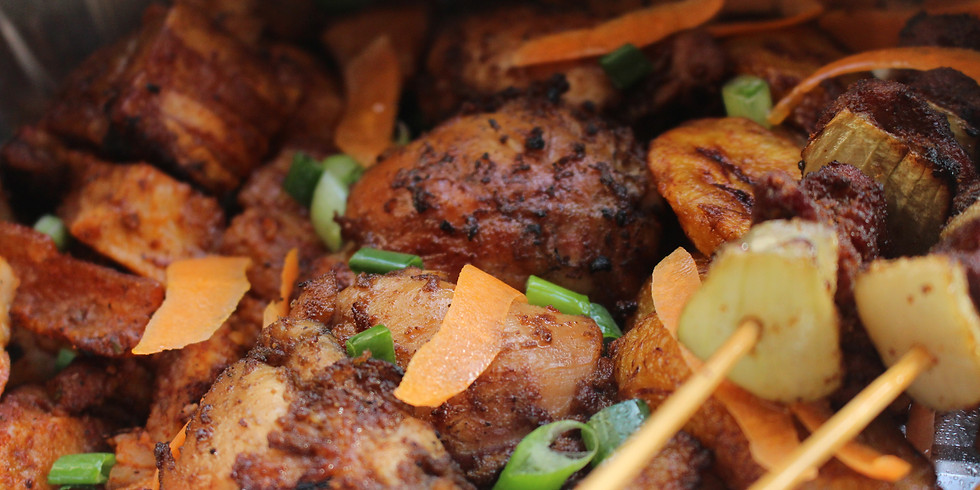The Ghanaian Pot Afro Mix Grill Takeaway