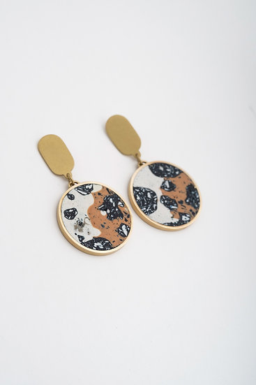 subroutines circle earrings