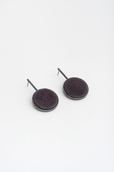 gridworlds earrings round