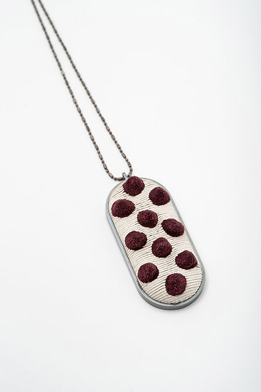 superorder large oval pendant