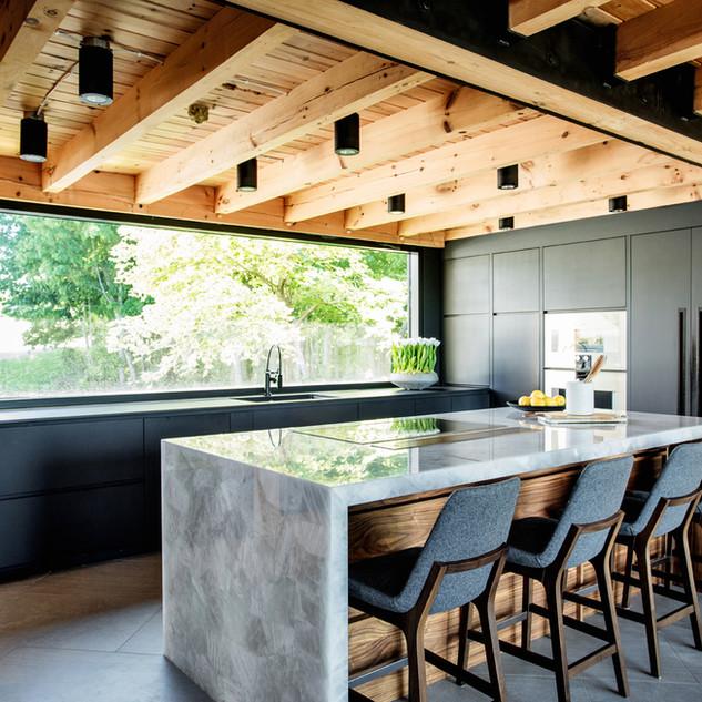 Modern Timber Frame
