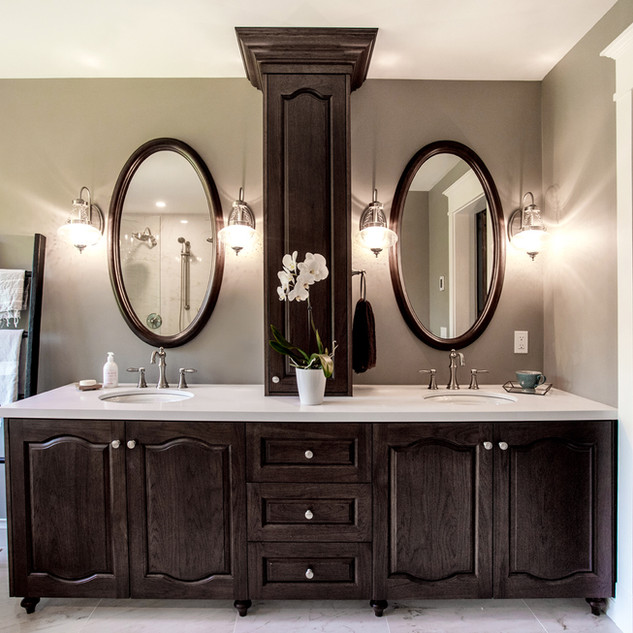 Hickory Vanity