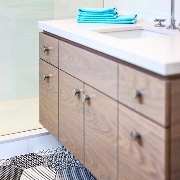 We completed this amazing bathroom for a