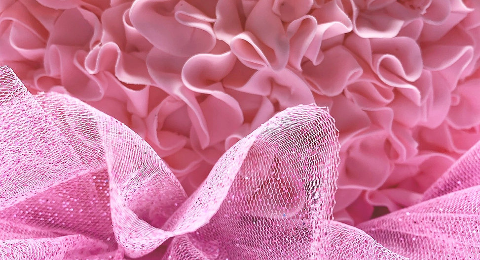 Pink Ruffles   Artful Sweets LLC