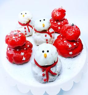 Holiday Cream Puffs