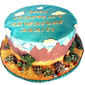 Mountain Cactus Cake