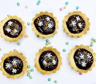 Mini Chocolate Caramel Tarts