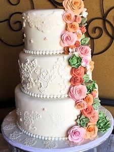 Wedding Cake | Artful Sweets LLC