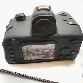 Back of Camera Cake