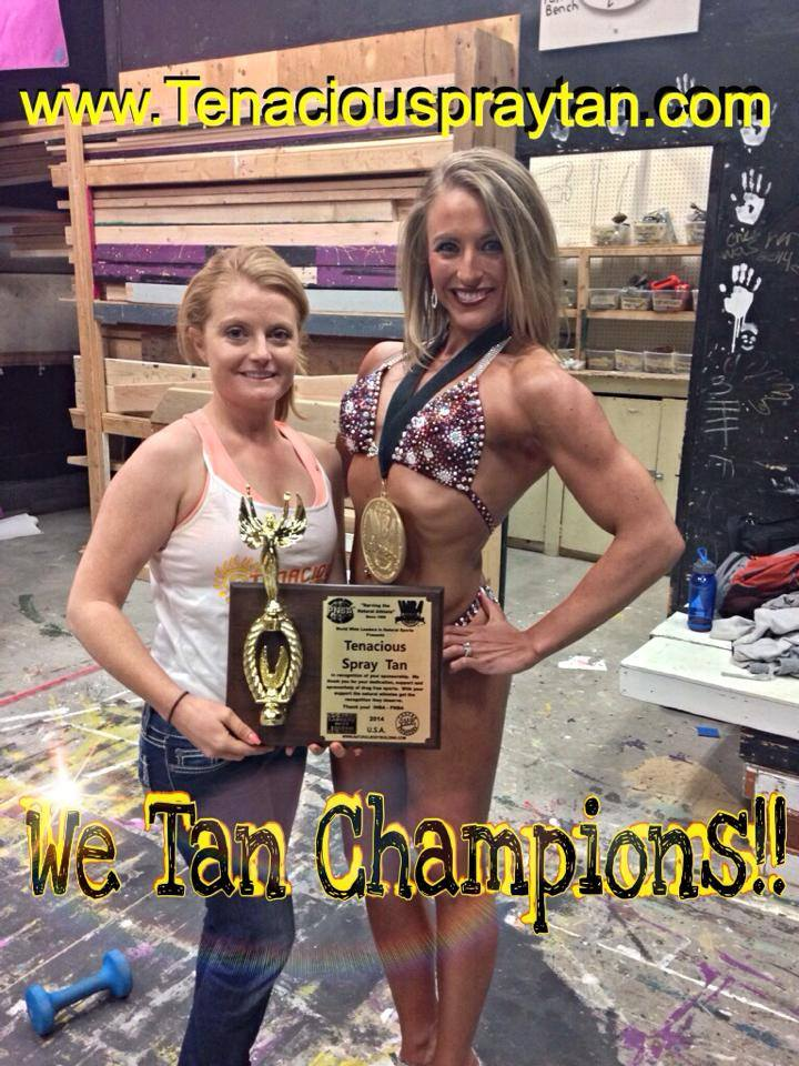 we tan champions one girl