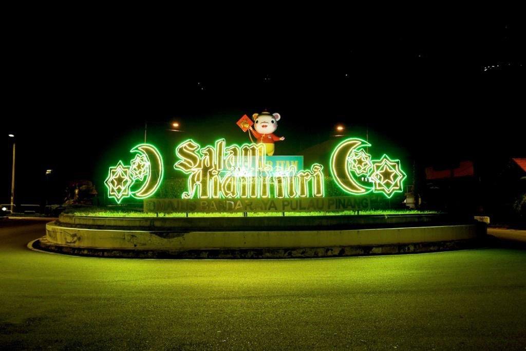 Air Itam Roundabout Installation 01