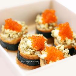 Crunchy Inari Sushi-s