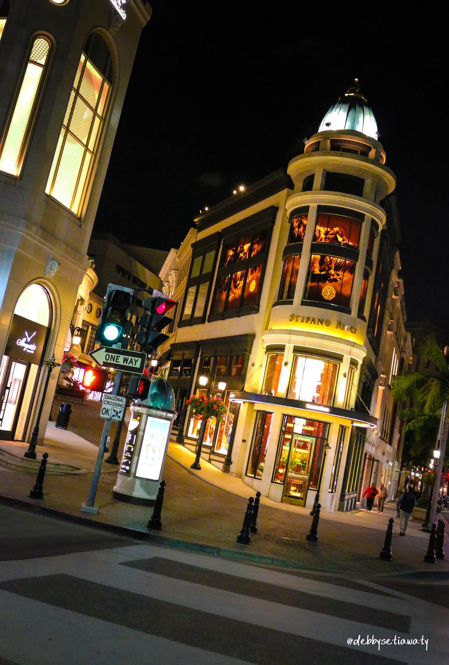 Rodeo Street - LA