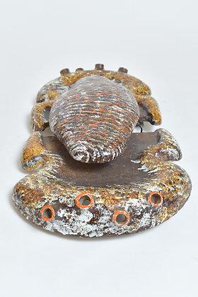 Keramik Skulptur Wandlampe