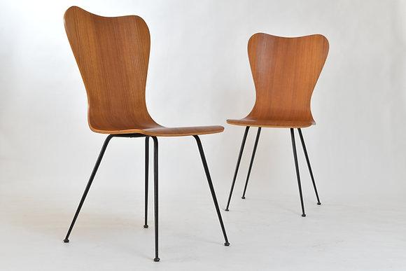 Italian Teak Chairs