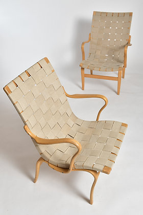 Bruno Mathsson Eva Chairs Set