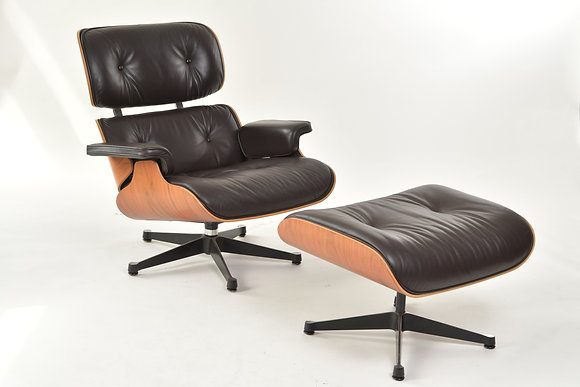 Eames Lounge Chair mit Ottomane