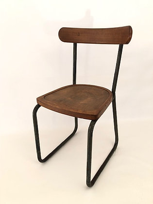 Stahlrohrhr Stuhl