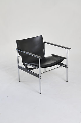 Charles Pollock Sling Lounge Chair