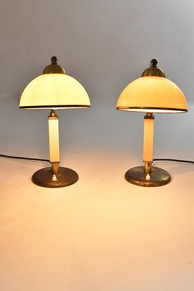 Bakelit Tischlampe