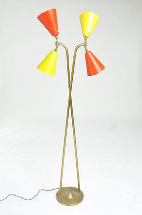 50s Stehlampe aus Italien