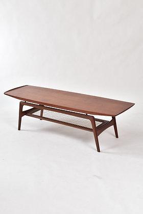 Surfboard Coffee Table in Teak