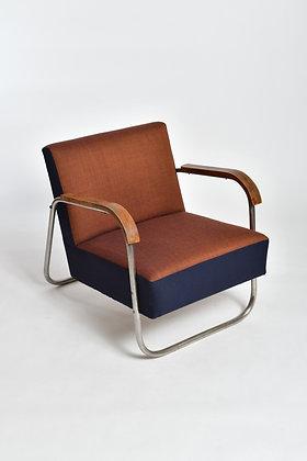 Stahlrohr Sessel Set
