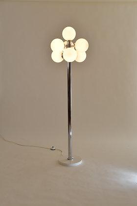 Spage Age Stehlampe Chrom