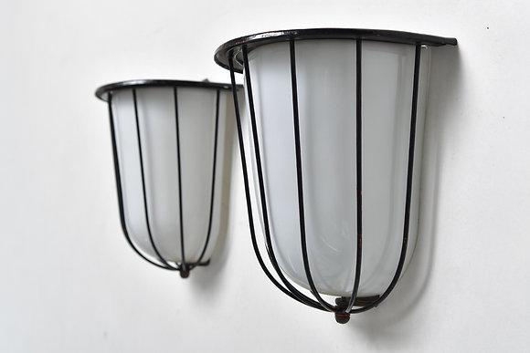 50s Wandlampen Paar