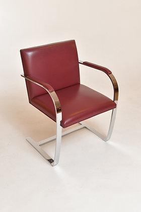 Ludwig Mies van der Rohe Brno Chairs (Paar)