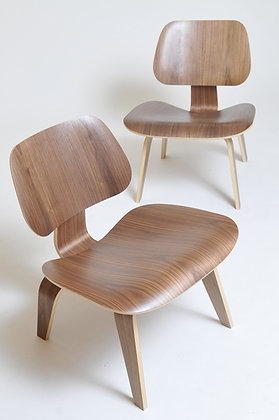 Charles & Ray Eames LCW Pair