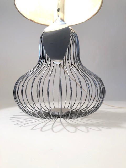 60's Tischlampe Birne
