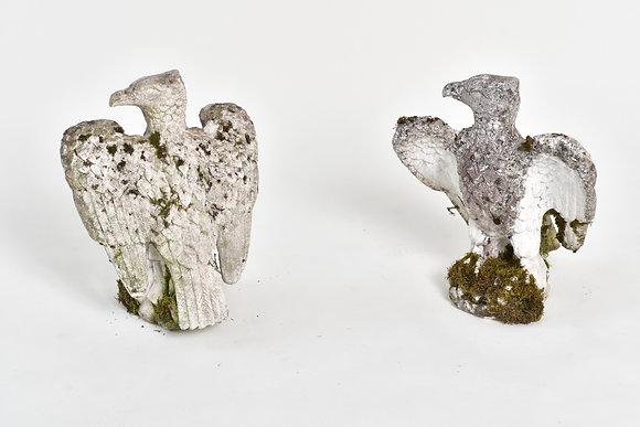 Adler Skulpturen Paar