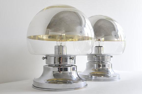 60s Tischlampen Paar