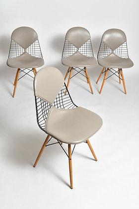 Charles & Ray Eames Bikini Chairs 4er Set