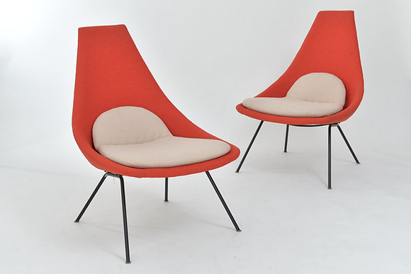 50's Lounge Chairs (Paar)