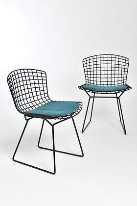 Harry Bertoia Wire Chairs Set