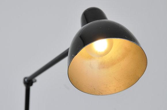 Industrielampe schwarz