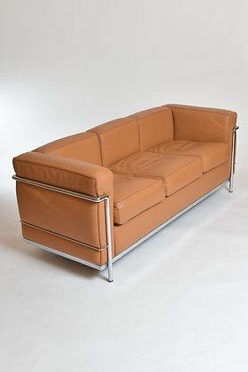 Le Corbusier Sofa LC2 Leder