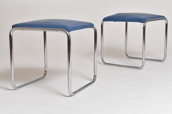 Bauhaus Hocker Set