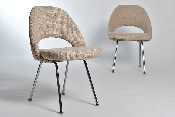 Eero Saarinen Executive Chairs 6er Set