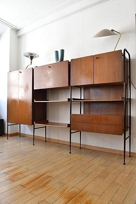 Midcentury Büchergestell