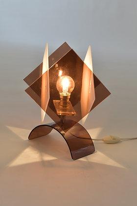Plexiglas Tischlampe